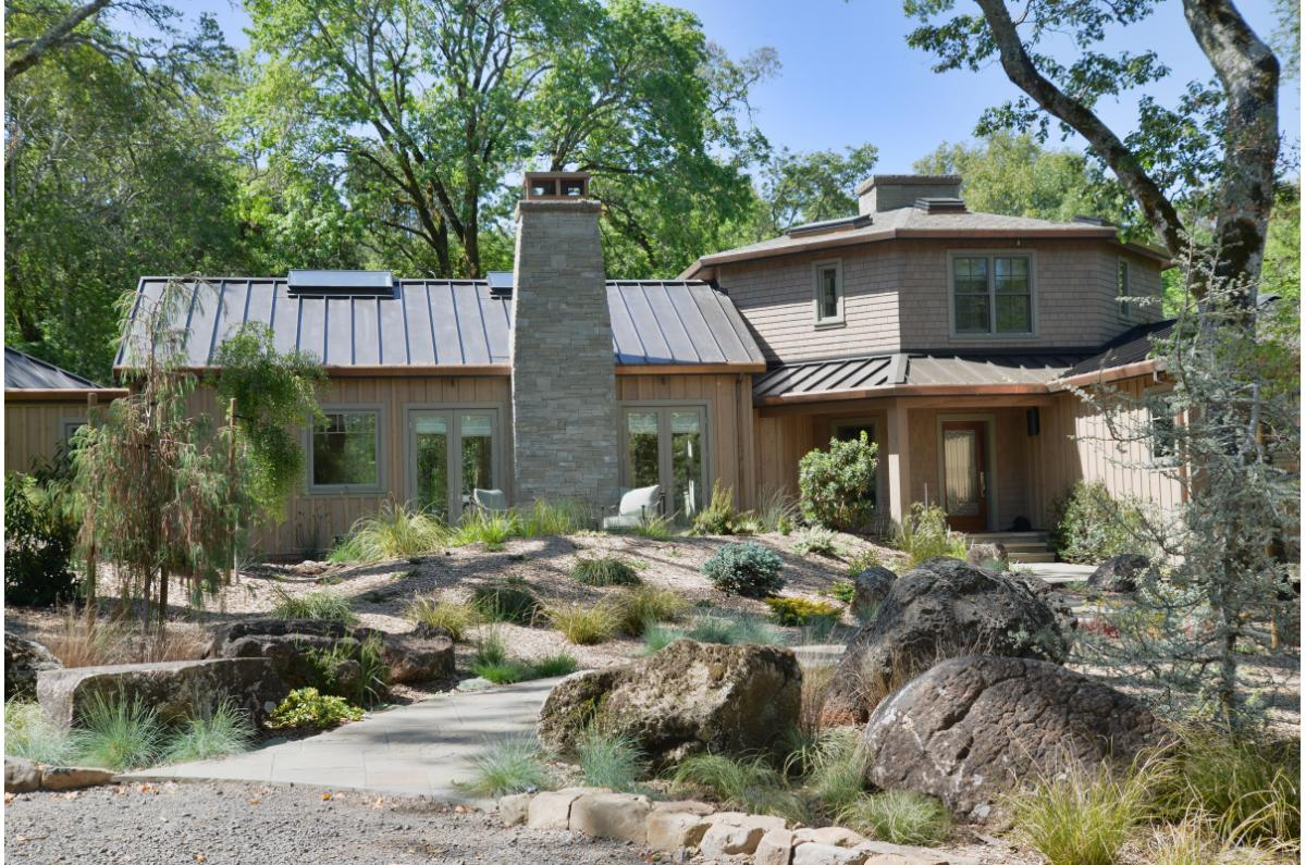 Polsky Perlstein Architects - <em>Edit Remodels &amp; Additions Gallery</em> --Glenn Ellen Historic Wood Country Estate Remodel and Addition