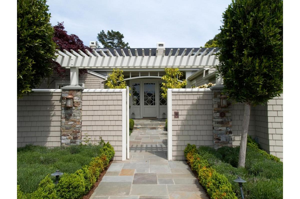 Polsky Perlstein Architects - <em>Edit Remodels &amp; Additions Gallery</em> Belvedere Traditional Painted Shingle Remodel