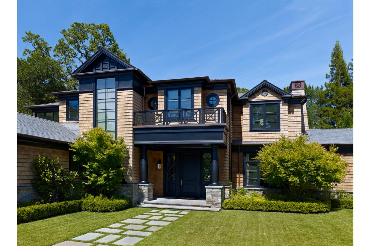 Polsky Perlstein Architects - <em>Edit New Homes Gallery</em> Kent Woodlands Urbane Shingle Home