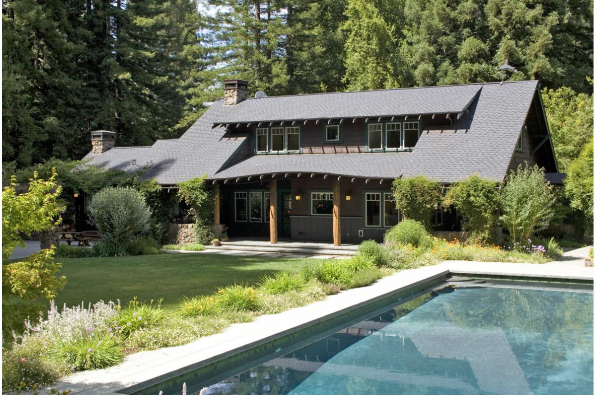 Polsky Perlstein Architects - <em>Edit New Homes Gallery</em> Nicasio Adirondack Craftsman
