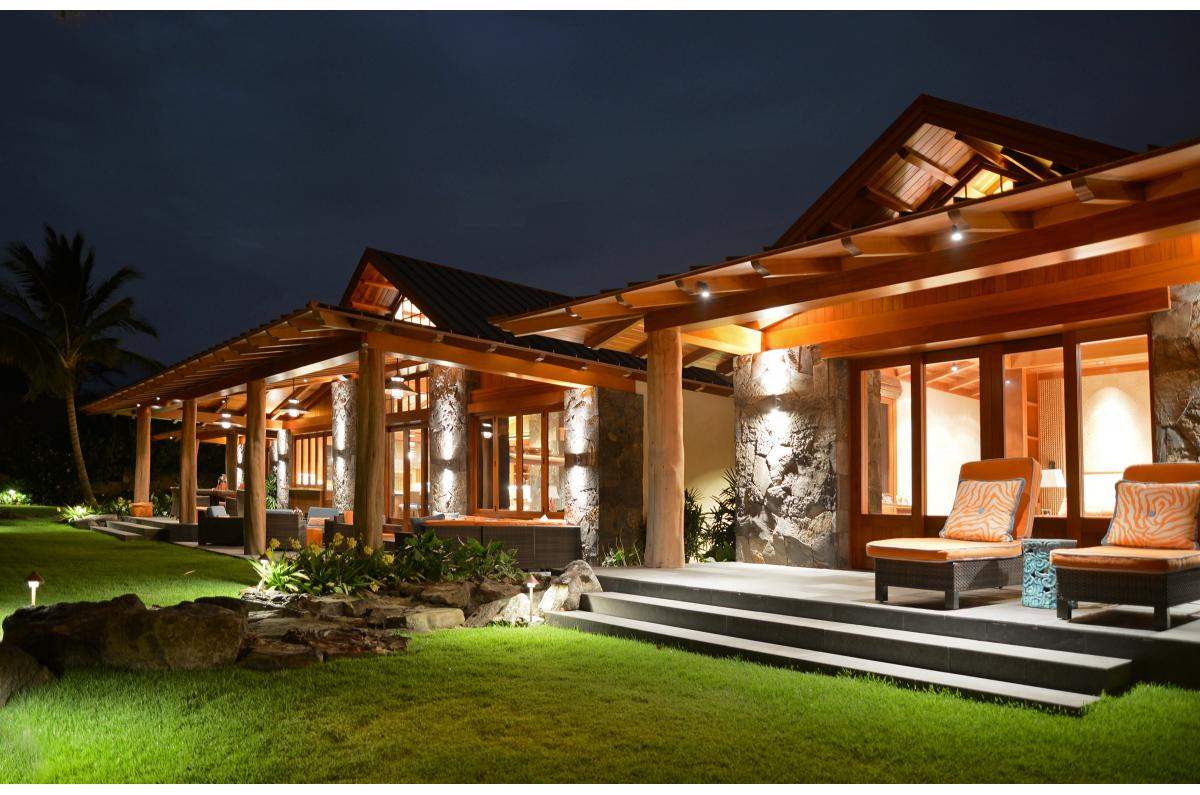 Polsky Perlstein Architects - <em>Edit New Homes Gallery</em> Big Island Hawaiian Traditional