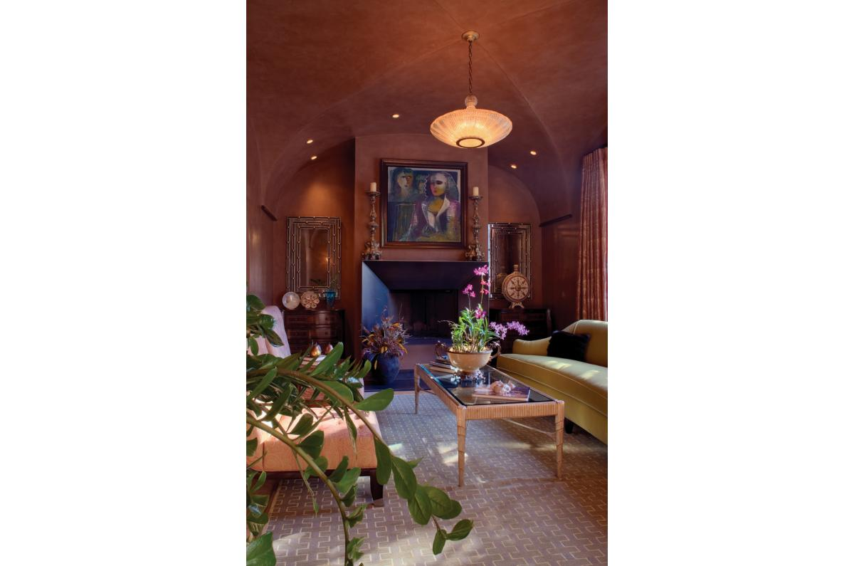 Polsky Perlstein Architects - <em>Edit New Homes Gallery</em> Kentfield Mediterranean Home, Outdoor Living and Guest House